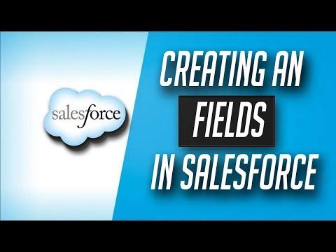 how to create custom field in salesforce - Salesforce Tutorial in hindi #5