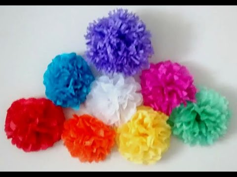Diy tissue paper flowers tissue paper flower tutorial birthday diy tissue paper flowers tissue paper flower tutorial birthdaywedding party decoration youtube mightylinksfo
