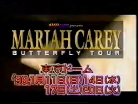 Mariah Carey - Honey Live @ The Hey! Hey! Music  Japan 1997 (RARE)