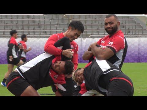 日本、南ア戦へ練習=ラグビーW杯