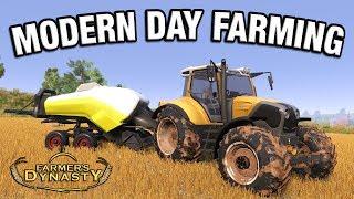 MODERN DAY FARMING  | Farmer's Dynasty Episode 32