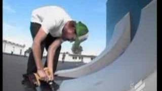 Jeff King Built to shred - ramp to wall ride