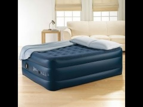 JCP Deluxe inflatable bed review (style# 3152)   YouTube