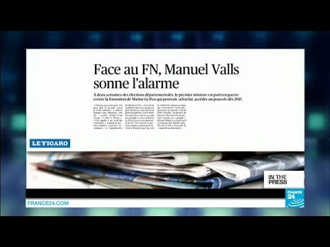 Manuel Valls sounds the alarm over the National Front