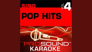 Blowing Kisses In the Wind (Karaoke Instrumental Track) (In the Style of Paula Abdul)