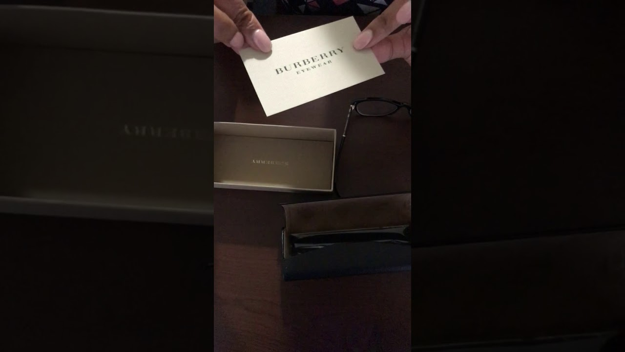 7f1ff1bf1c26 Unboxing the Burberry 2172 Luxury Prescription Glasses! - YouTube