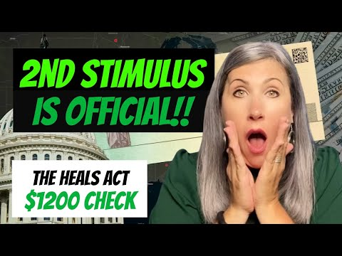 second-stimulus-check-update---the-heals-act-|-$1200-check---what-is-in-the-2nd-stimulus-package?