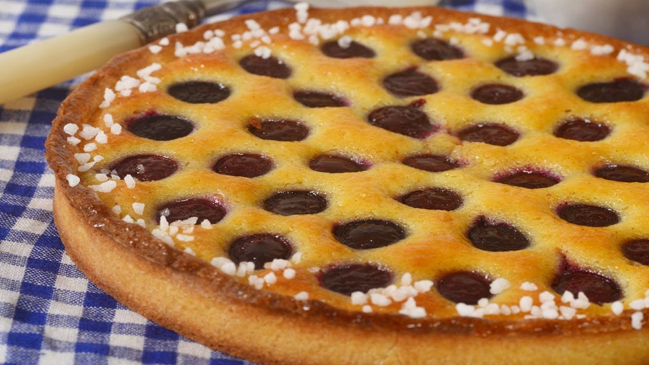 Cherry Tart Recipe Demonstration - Joyofbaking.com