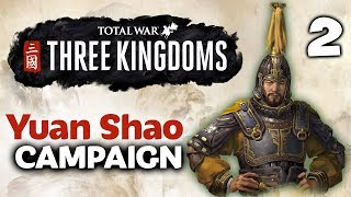 SURROUNDED BY ENEMIES! Total War: Three Kingdoms - Twitchcon EU - Yuan Shao Campaign #2 of 3