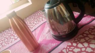 How to make Green tea by using an Electric Kettle