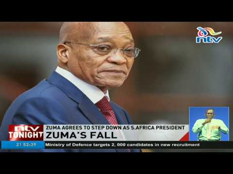 Zuma agrees to step down as South Africa' president