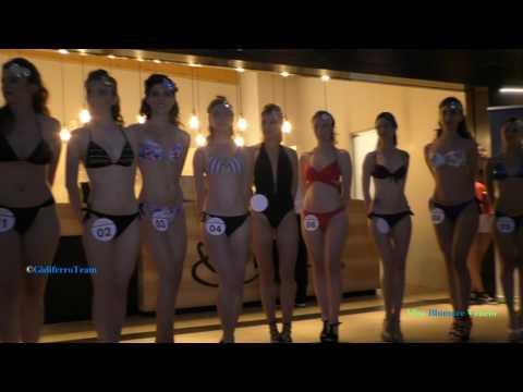 Miss Blumare Veneto 2017 Sfilata Bikini Casual Abito 3^ Selezione Caffè Vero