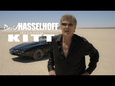 DAVID HASSELHOFF - Knight Rider interview, and KITT!!