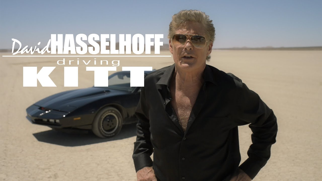 DAVID HASSELHOFF - Knight Rider interview, and KITT!!