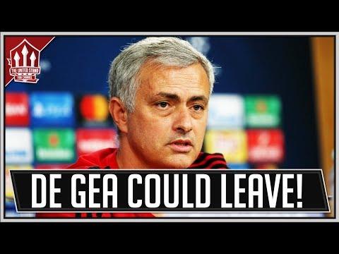 MOURINHO NOT CONFIDENT ON DE GEA MAN UTD STAY! Man Utd News
