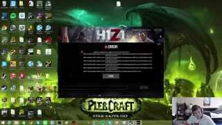 H1Z1 Launch Error FIX Unable to download SocketError:Host Not Found (11001)