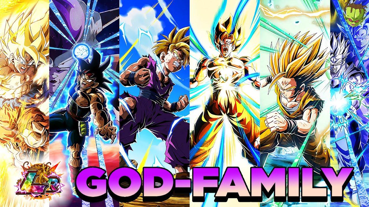 Download LR GOD-FAMILY! FULL TEAM LR SON FAMILY   Dokkan Battle