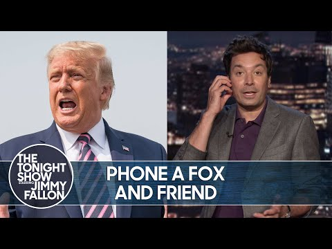 Trump Promises to Call in to Fox and Friends Every Week | The Tonight Show