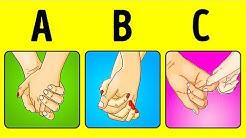 Die Art, wie ihr Händchen haltet, verrät viel über eure Beziehung