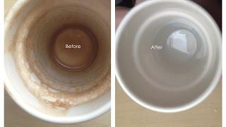 【生活小幫手】杯子裡的陳年茶垢怎麼清?