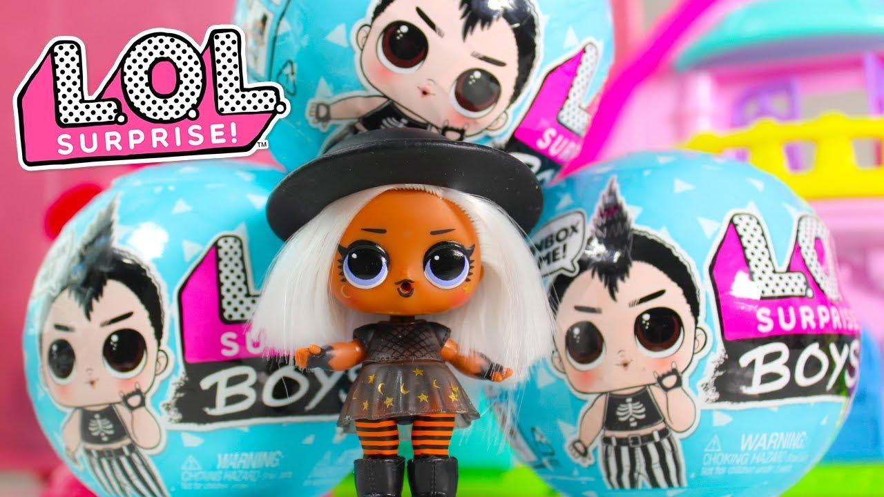 Крутой братик! Куклы ЛОЛ Мальчики Мультики с игрушками ...