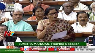 Video Nirmala Sitharaman Counter to Rahul Gandhi Over Allegations Against Her in Rafale Case | NTV download MP3, 3GP, MP4, WEBM, AVI, FLV September 2018