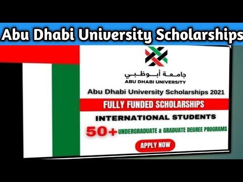 Abu Dhabi University Scholarships For Pakistani Students 2021 | Fully Funded (BS & MS)