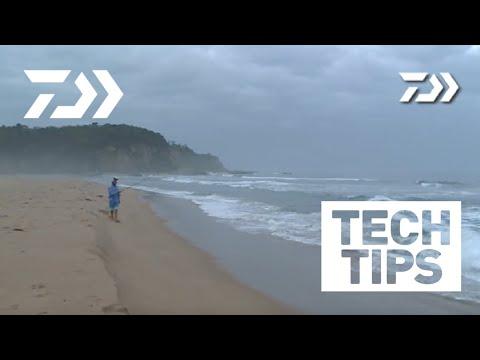 Daiwa Beach Fishing Tips