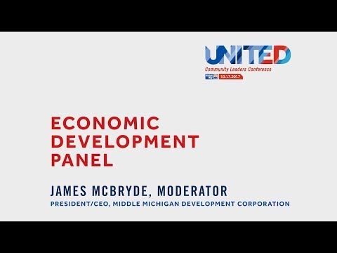 Mid-Michigan United Community Leaders Conference - Economic Development Panel