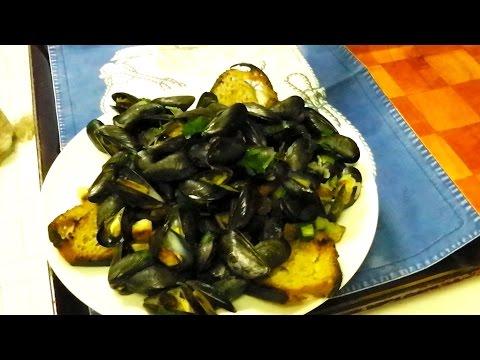 Ricette da Sballo Cozze alla Francesina Moules Marinieres