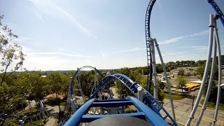 Sky Rocket Roller Coaster POV Kennywood Amusement Park Front Seat On-Ride HD 1080p