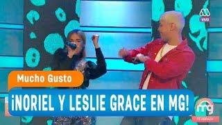 ¡noriel Y Leslie Grace Cantan 'duro Y Suave'! - Mucho Gusto 2018
