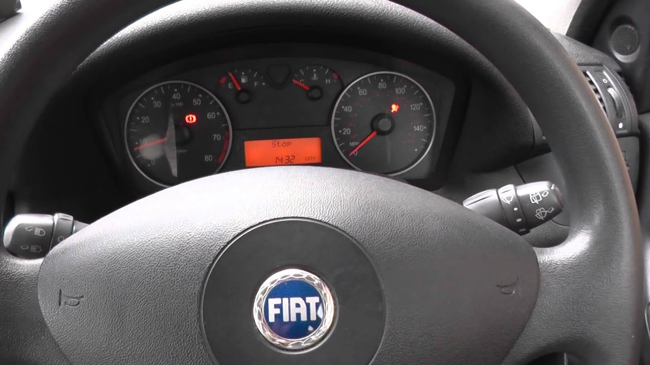 Fiat Airbag Warning Light Reset How To Do It Youtube