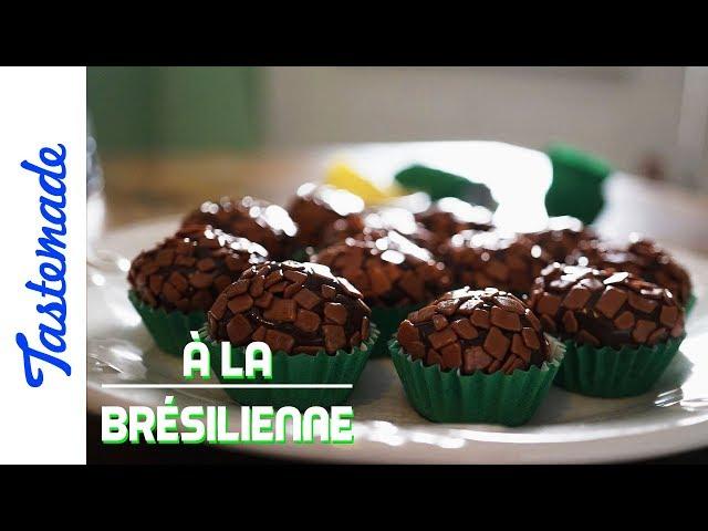Truffes en chocolat, brigadeiro - À la brésilienne