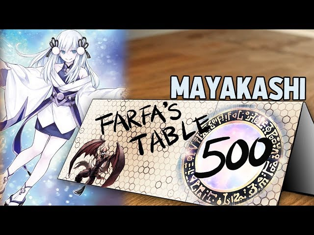 Table 500 #179 Mayakashi How to special summon 50 times and end on nothing.