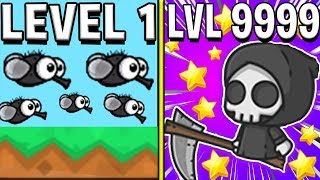3 GRIM REAPERS IN 1 LOBBY *BRAND NEW UPDATE* (NEW HIGHEST LEVEL 9999+ UPDATE?) - FlyOrDie.io