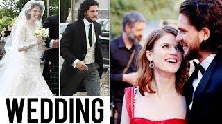 Kit Harington Wedding Photos | Jon Snow Married !!!