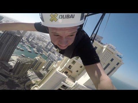 Dubai Marina ZIPLINE POV by AbsolutelyLiveDubai