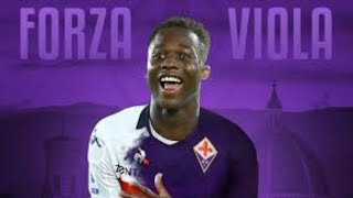 Christian kouame will become the new fiorentina striker. ivory coast striker from genoa is signing of la viola.🔔do you think going to ...