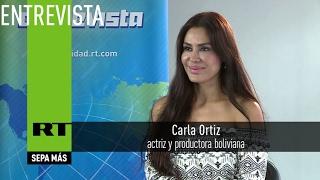 """""""Los sirios han perdido la fe en la prensa occidental"""" - Carla Ortiz, actriz y productora boliviana"""