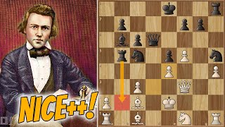 8 Years Waiting for Revenge || Morphy vs Löwenthal (1858)