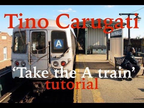 """Lezione di Piano n.80 : Duke Ellington """"Take the 'A' train"""", tutorial"""