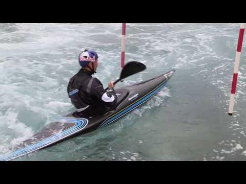 Go Canoe! Joe Clarke's Banzai Move
