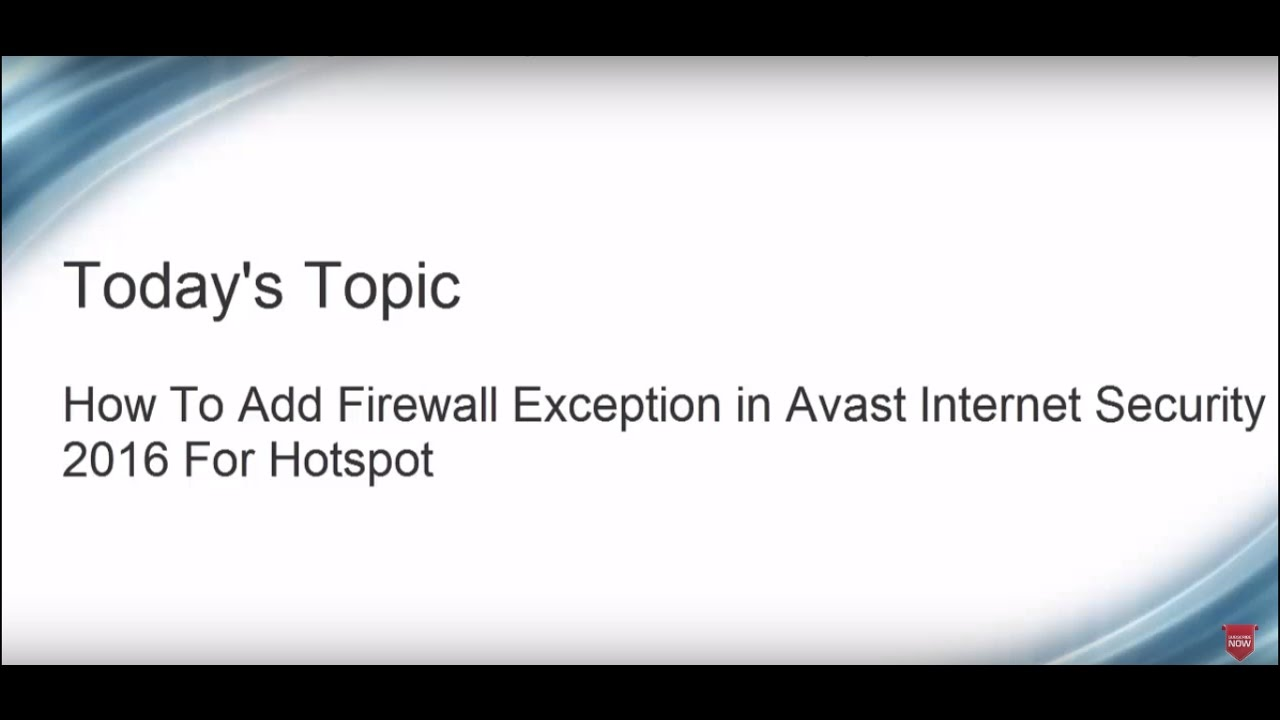 avast add exclusion command