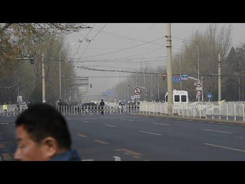 Convoy seen as speculation mounts Kim in Beijing