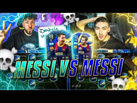 FIFA 21: TOTS MESSI vs TOTY MESSI Squad Builder Battle ☠️☠️ TheRealPaiinz vs Wakez 🔥🔥