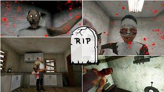 Death Scene Ending Battles Granny Vs Evil Nun Vs Mr. Meat Vs HeadHorse