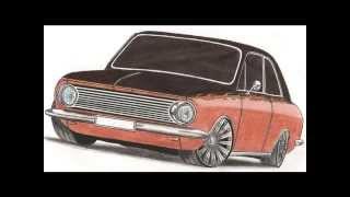 desenhos de carros rebaixados Anderson S...