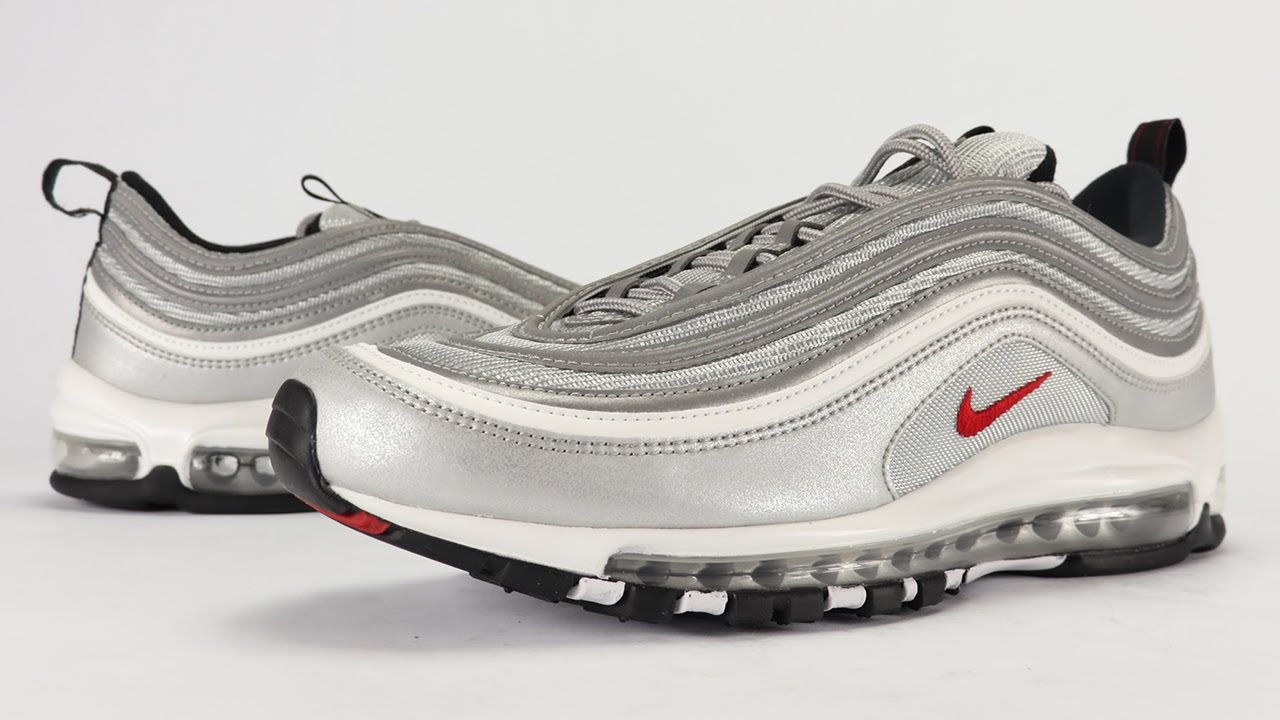 new arrival 14157 1d35a Nike Air Max 97 Silver Bullet 2017 Review + On Feet