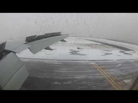 Delta Flight 172 Landing at JFK under Blizzard Warning